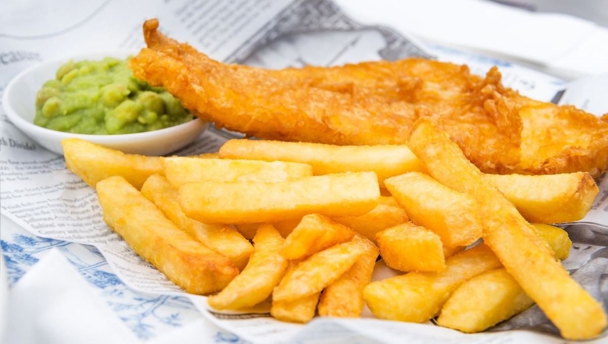 Some of our award winning fish and chips